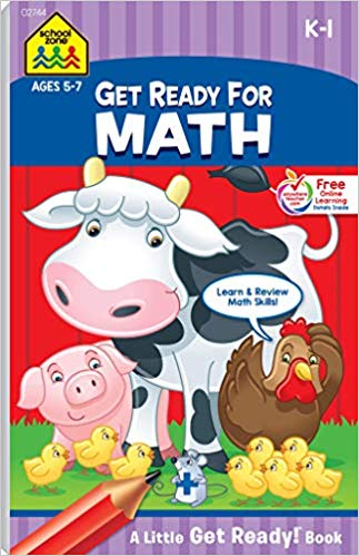 Little Busy Book - Get Ready for Math!  K-1  Ages 5-7