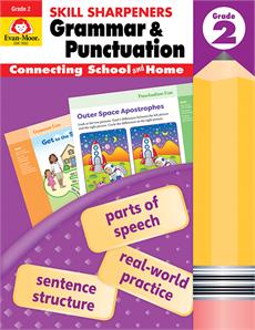 Skill Sharpeners Grammar/Punctuation Grade 2