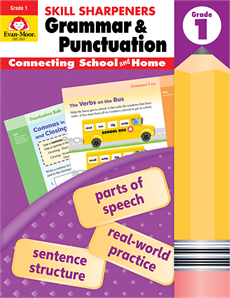 Skill Sharpeners Grammar/Punctuation Grade 1