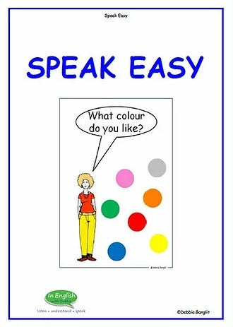 In English with Debbie- Speak Easy and ABC Booklet