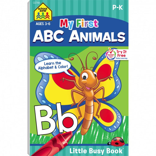 Little Busy Book - My First ABC Animals      P-K