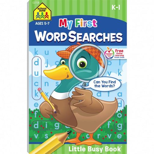 Little Busy Book - My First Word Searches      K-1