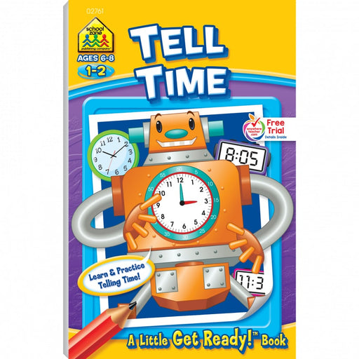 Little Busy Book - Get Ready To Tell Time   Ages 6-8