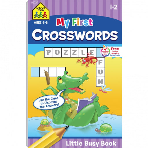 Little Busy Book - My First Crosswords     Grades  1-2