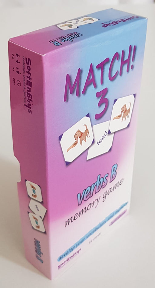 Match! 3- Memory Game - Verbs B