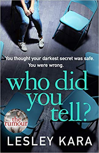 Who Did You Tell? - COMING JANUARY 2020