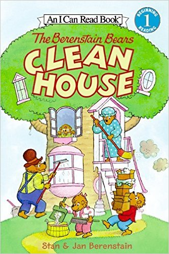 ICR 1-Berenstain Bears Clean House