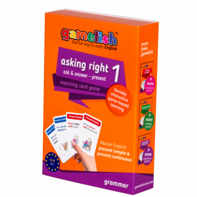 Gamelish - Asking Right 1 - Present