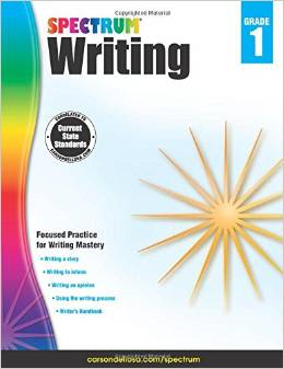 Spectrum Writing Grade 1 2015