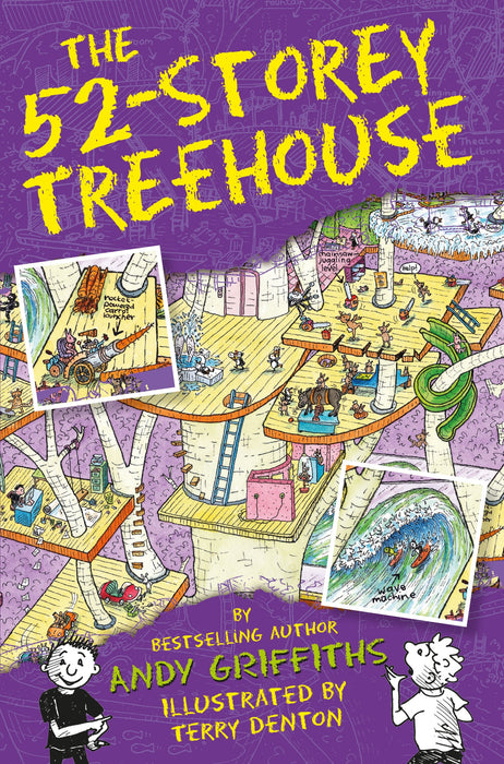 Treehouse Books #04 - The 52-Storey Treehouse