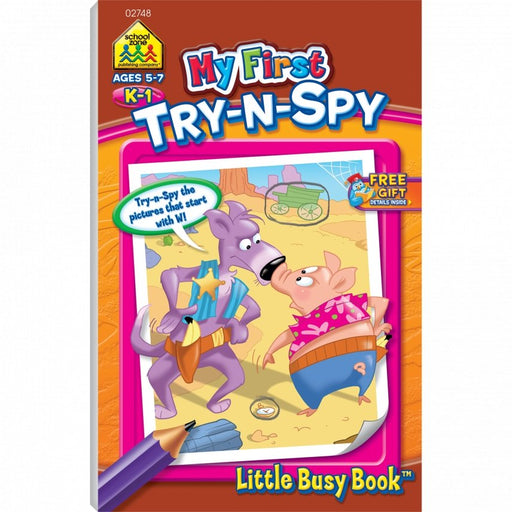 Little Busy Book - My First Try N Spy    K-1    Ages 5-7