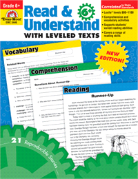 Read and Understand with Leveled Texts Gr. 6+