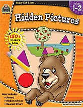 Ready-Set-Learn: Hidden Pictures Grade 1-2