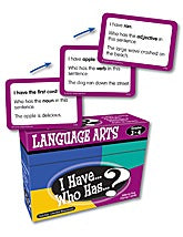 I Have, Who Has Language Arts Game 3-4