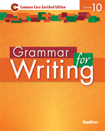 Grammar for Writing 2014 10 Orange