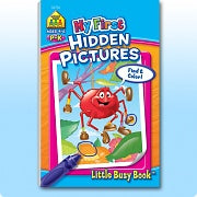 Little Busy Book - My First Hidden Pictures P-K Ages 4-6