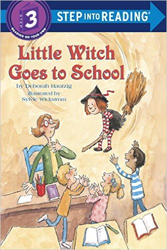 STEP 3 - Little Witch Goes to School