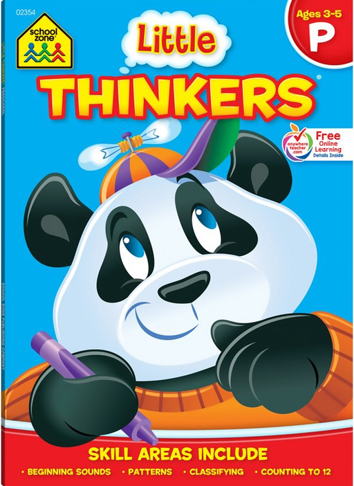 Little Thinkers Deluxe Preschool Ages 3-5