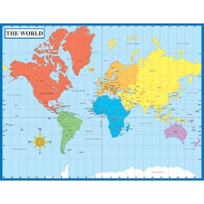 Poster: Map of the World