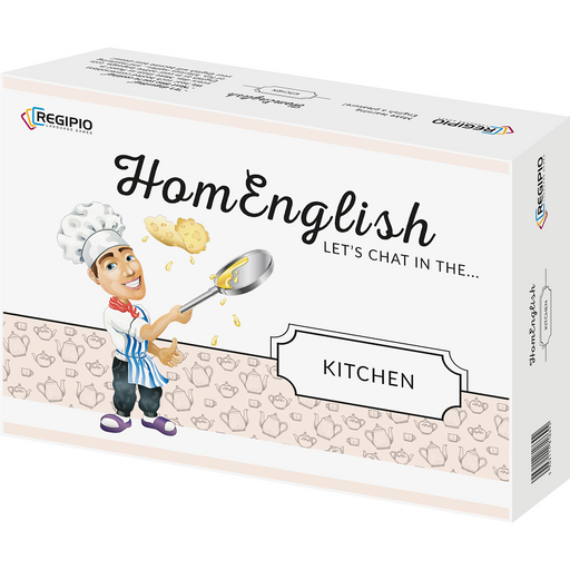 Regipio: HomEnglish - Let's Chat In The Kitchen