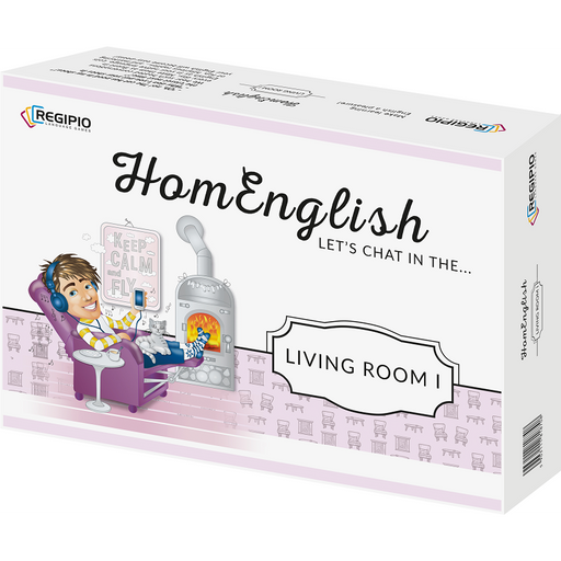 Regipio: HomEnglish- Let's Chat In The Living Room