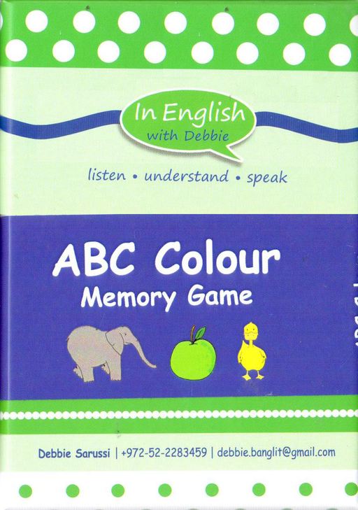 In English With Debbie - ABC Colour Memory