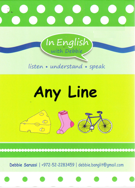 In English With Debbie - Any Line