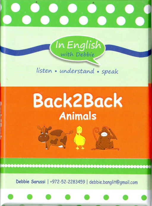 In English With Debbie - Back2Back Animals
