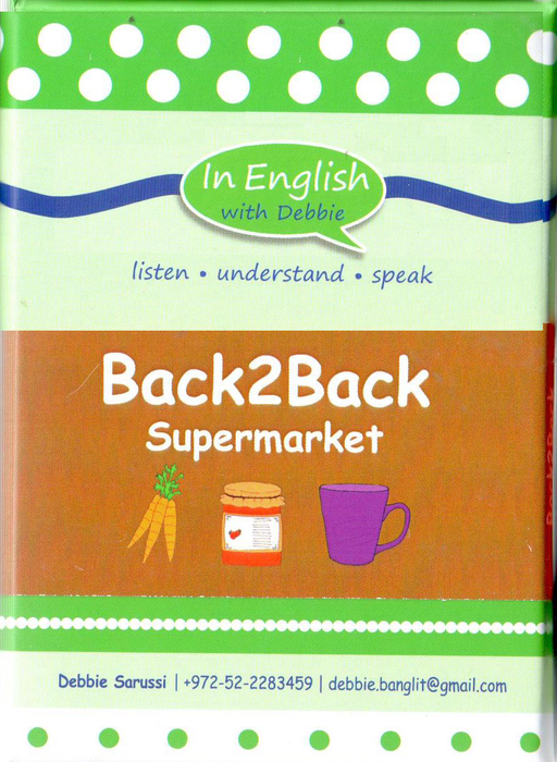In English With Debbie - Back2Back Supermarket