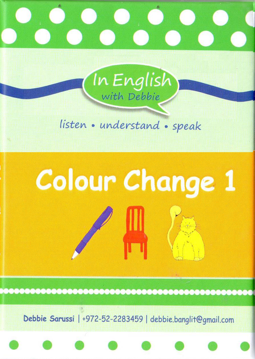 In English With Debbie - Colour Change 1
