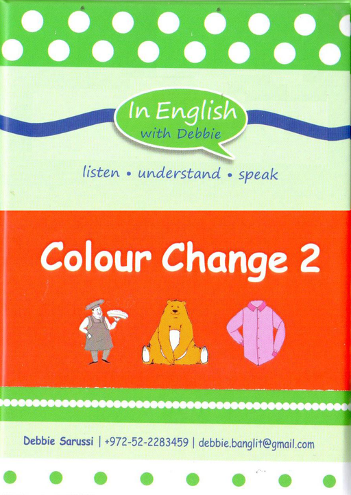 In English With Debbie - Colour Change 2