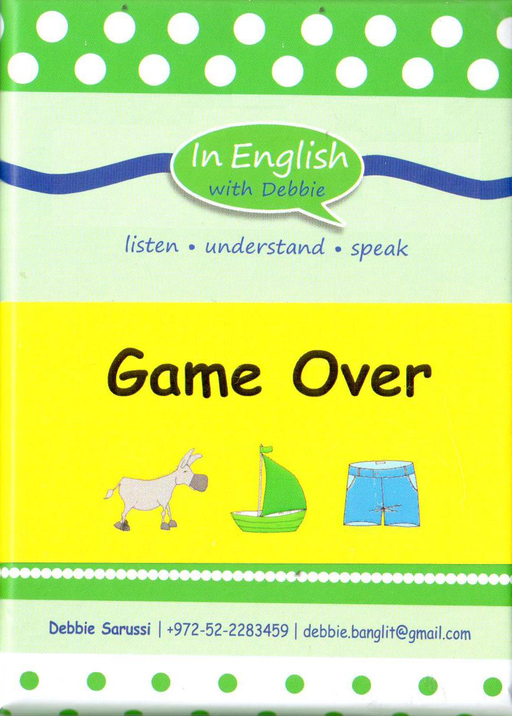 In English With Debbie - Game Over