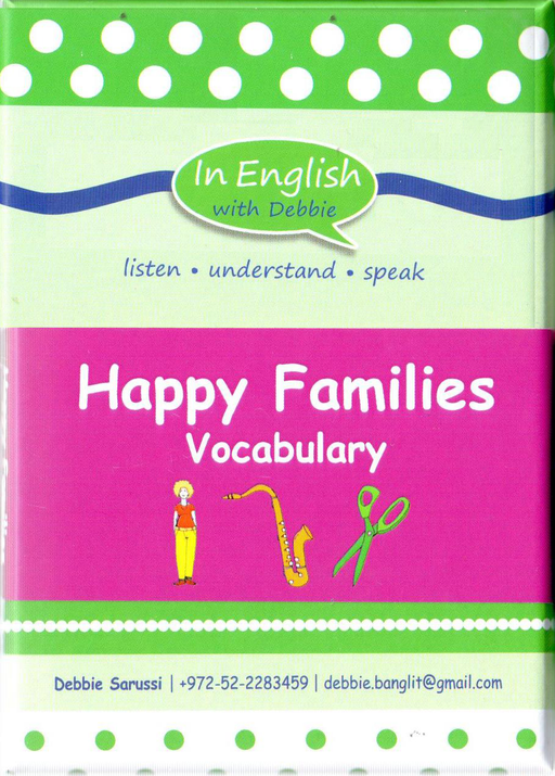 In English With Debbie - Happy Families Vocabulary