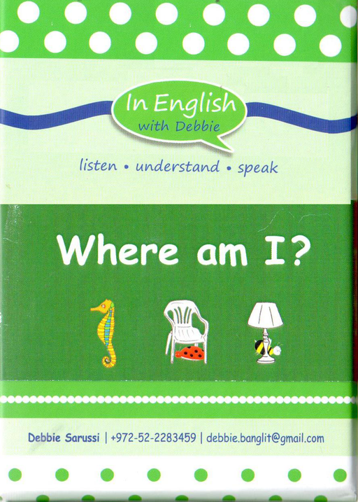 In English With Debbie - Where Am I?