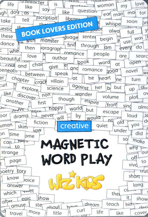 Wiz Kids Magnetic Play - Book Lover's Edition