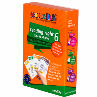 Gamelish - Reading Right #6 - The Rhyming Game