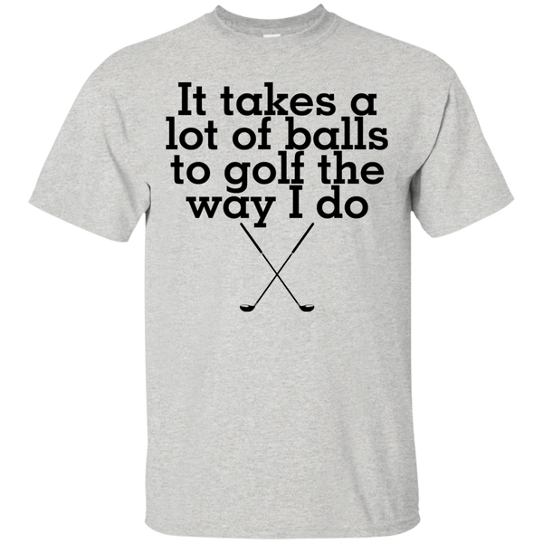 Limited Edition Lot of Balls Golf T-Shirt - Thrift Scores