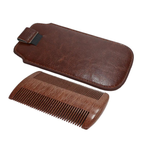 2017 Sandalwood Beard Comb - Thrift Scores