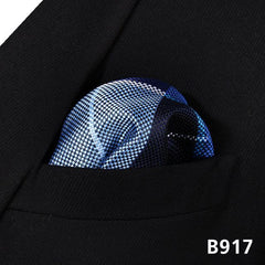 Simply Classic Silk Pocket Square - Thrift Scores