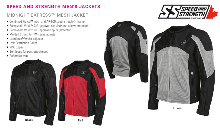 MIDNIGHT EXPRESS MESH JACKET