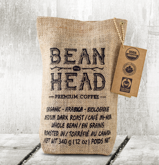 Bean Head -  Premium Coffee / Whole Bean