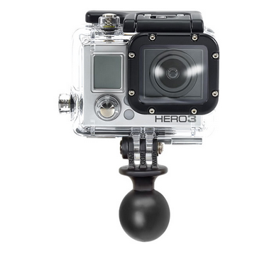 "RAM GOPRO Mount Base 1"" Dia Ball"