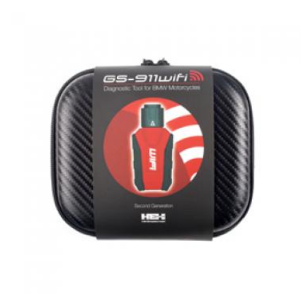Scan with HEX Code GS-911wifi Diagnostic Tool for BMW Motorcycles
