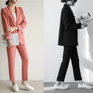Office Female Suit Pant Suits Women Casual Office Business Suits Formal Work Wear Sets Uniform Styles Elegant Pant Suits Costumes for women