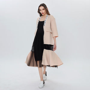 Trench Coat Winter Trench Coat Female Women's Windbreaker Long Sleeve Plus Size Overcoat Cardigan Clothes For Women Coats Fashion