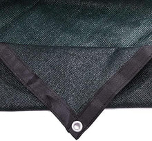 10FT Sun Shades Cloth Outdoor Large Dog Kennel Cool Shades Cloth Dog Cage Cover-Dark Green