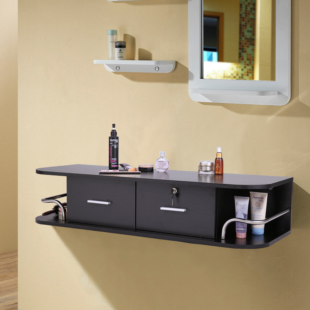 Wall Mount Locking Styling Hair Station & Appliance Holder Salon Spa Equipment