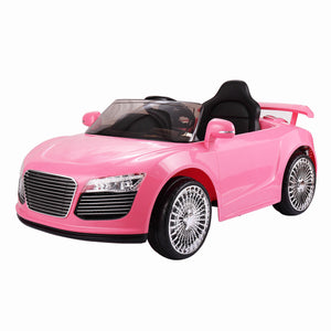 12V Ride on Car Kids RC Car Remote Control Electric Powered W/MP3 Pink