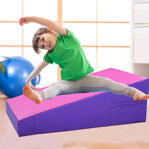 Incline Gymnastics Mat Wedge Ramp Gym Skill Sports Exercise Aerobics Tumbling
