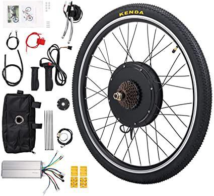 Electric Rear Wheel Bicycle Motor Conversion Kit Hub